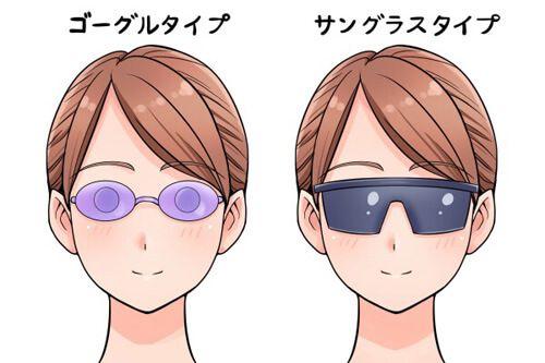 VIO脱毛施術時のアイマスク